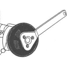 Licota ATA-0372 Ключ для фиксации глубоко посаженных шкивов помп VAG, фото 2
