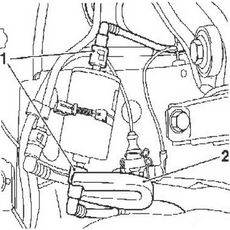 Licota ATM-0110 Съемник коннектора топливного фильтра (BENZ, MAZDA, VW, AUDI, OPEL, FIAT, GM), фото 1
