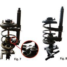 """Licota ATC-2281B Стяжка пружин регулируемая для подвески типа """"Макферсон"""", усиленная, фото 5"""
