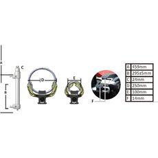 """Licota ATC-2281B Стяжка пружин регулируемая для подвески типа """"Макферсон"""", усиленная, фото 6"""