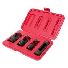 Набор головок для снятия датчика кислорода 4 предмета в кейсе, фото 1