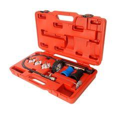 Набор инструментов для тестирования герметичности охладительной системы 7 предметов в кейсе, фото 1