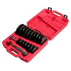 Набор оправок для выпрессовки подшипников, втулок, сальников 70-150мм 21 предмет в кейсе, фото 1
