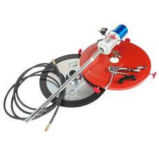 Нагнетатель смазки (солидолонагнетатель) пневматический 200л, 30г/ход, шланг 6м, фото 1