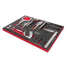 Набор инструментов 12 предметов слесарно-монтажный в ложементе, фото 1