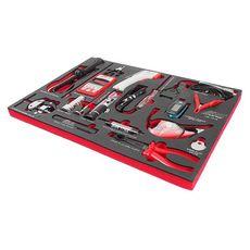 Набор инструментов 16 предметов слесарно-монтажный в ложементе, фото 1