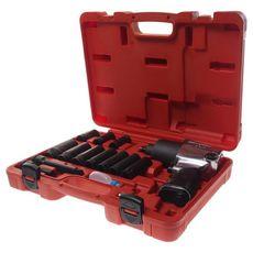 Набор инструментов для шиномонтажа (с пневмогайковертом-3202) 15 предметов в кейсе, фото 1