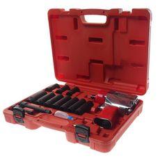 Набор инструментов для шиномонтажа (с пневмогайковертом-5812) 15 предметов в кейсе, фото 1