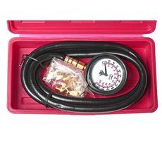 Тестер давления масла с адаптерами в кейсе, фото 2