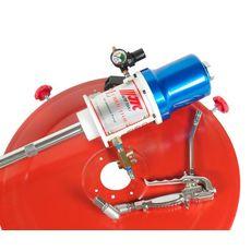 Нагнетатель смазки (солидолонагнетатель) пневматический 200л, 30г/ход, шланг 6м, фото 2