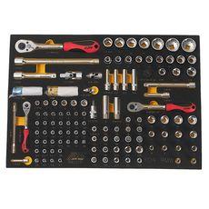 Набор инструментов 119 предметов слесарно-монтажный (BMW) в ложементе, фото 2