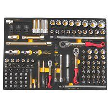 Набор инструментов 119 предметов слесарно-монтажный в ложементе, фото 2