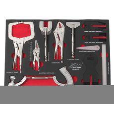 Набор инструментов 12 предметов слесарно-монтажный в ложементе, фото 2