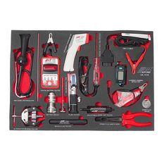 Набор инструментов 16 предметов слесарно-монтажный в ложементе, фото 2