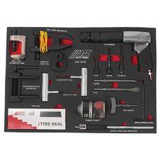 Набор инструментов 18 предметов слесарно-монтажный в ложементе, фото 2