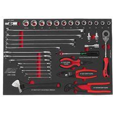 Набор инструментов 36 предметов слесарно-монтажный в ложементе, фото 2