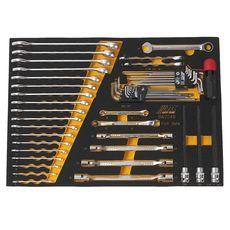 Набор инструментов 48 предмета слесарно-монтажный (BMW) в ложементе, фото 2