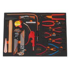 Набор инструментов 32 предмета слесарно-монтажный в ложементе, фото 2