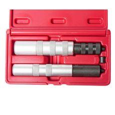 Набор инструментов для демонтажа замков клапанов (штоки 4.5-7.5мм) 3 предмета в кейсе, фото 2