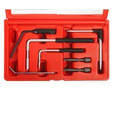 Набор инструментов для демонтажа подушки безопасности водителя 7 предметов в кейсе, фото 2