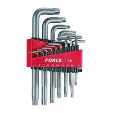Набор удлиненных Г-образных ключей FORCE Т6-Т60 15 предметов 5151L, фото 1
