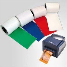 B-595 100 мм. Лента промышленная, винил высокого качества, белая  для принтера Minimark. Длина 30 м., фото 1