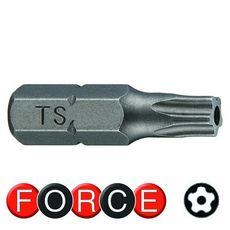 Бита с отверстием 5-ти лучевая TS30, 25 мм FORCE 12F2530, фото 1