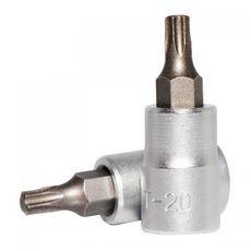 """1/4"""" Головка-бита Torx Т20, L=32 мм (FORCE 3263220), фото 1"""