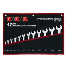 Набор рожковых ключей с 6х7 по 30х32 свёртка 12 предметов FORCE 5128C, фото 1