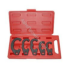 Набор ключей для регулировки рулевых тяг, под вороток 1/2, 5шт FORCE 905T1, фото 1