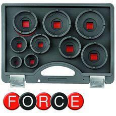 Набор ступичных головок 9 предметов FORCE 909T3, фото 1
