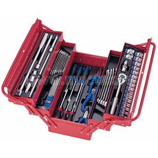 Набор инструментов в ящике 62 предмета KING TONY 902-062MR  раскладной, фото 1