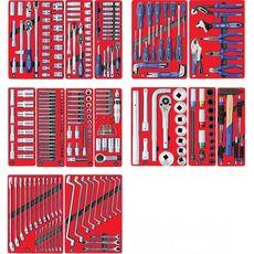"Набор инструментов для тележки 299 предметов МАСТАК 5-00299 ""ПРОФИ"" 14 ложементов, фото 1"