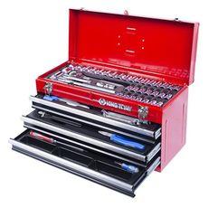 Набор инструментов в ящике 69 предметов KING TONY 901-069MR01 выдвижной, фото 1