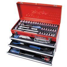 Набор инструментов в ящике 73 предмета KING TONY 901-073MR выдвижной, фото 1