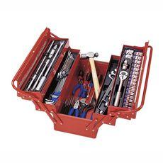 Набор инструментов в ящике 65 предметов KING TONY 902-065MR01 раскладной, фото 1