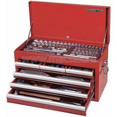 Набор инструментов в ящике 219 предметов KING TONY 911-000CR выдвижной, фото 1