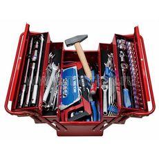 Набор инструментов в ящике 88 предметов KING TONY 902-089MR01 раскладной, фото 1