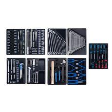 Набор инструментов для тележки 161 предмет KING TONY 936-005MRD 9 ложементов, фото 1
