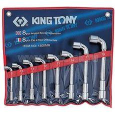 Набор торцевых L-образных ключей 8 предметов KING TONY 1808MR 8-19 мм, фото 1
