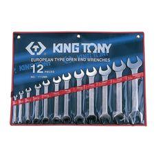Набор рожковых ключей 12 предметов KING TONY 1112MR 6-32 мм, фото 1